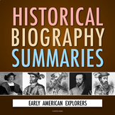 Early American Explorers: History Biography Webquest (PDF