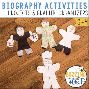 Biography Teaching Tools: Graphic Organizers, Tools, and Projects