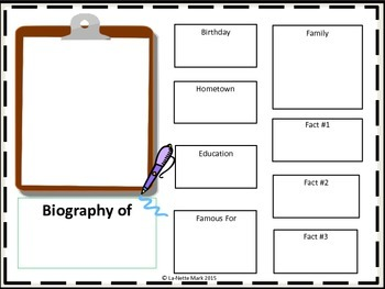 Biography Templates