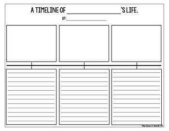 Life Timeline Template from ecdn.teacherspayteachers.com