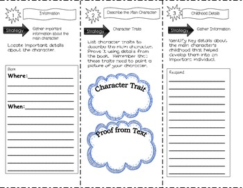 Biography Trifold