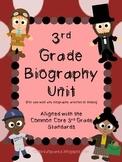 3rd Grade Biography Unit