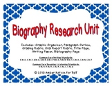 Biography Unit (Common Core Aligned)