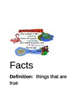 Biography Vocabulary Activity