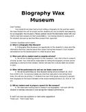 Biography Wax Museum - Editable