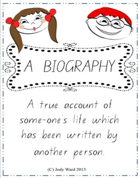 Biography Worksheets for Young Learner's - Core C2C