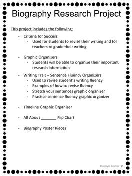 Biography Write