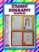 Biography Writing Activity