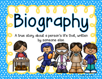 Biography Writing: An Interview & Writing Project