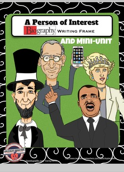Biography Writing Frame Mini Writing Unit (Over 30 Related