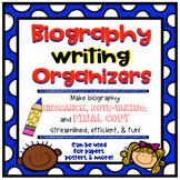Biography Writing Graphic Organizer