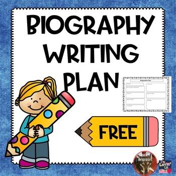 Biography Writing Plan