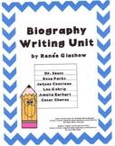 Biography Writing Unit