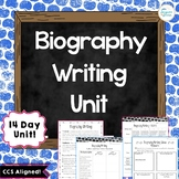 Biography Writing Unit: Lesson Plans, Graphic Organizers,