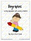 Biography Writing Unit - Nonfiction Writing with Primary Students
