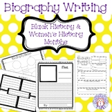 Biography Writing for Black History Month and Women's Hist
