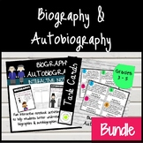 Biography and Autobiography BUNDLE