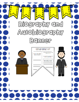 Biography and Autobiography Banner
