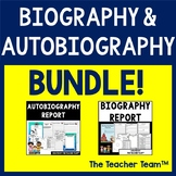Biography and Autobiography |  Report Template Bundle