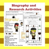 Biography and Research James Robertson Packet