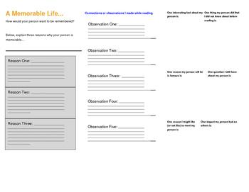 Biography brochure