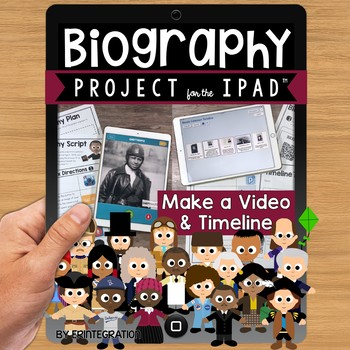 Biography Project on the iPad