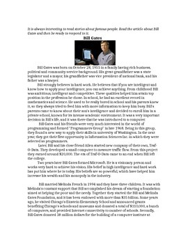 Biography of Bill Gates