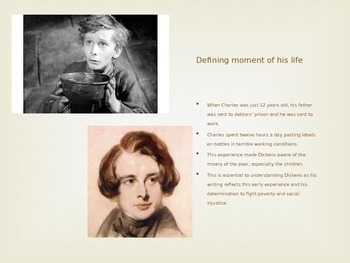 Biography of Charles Dickens (Pre-reading of A Christmas Carol)