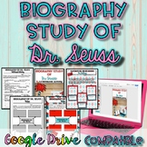Biography Study of Dr. Seuss Activity {Digital AND Paper}