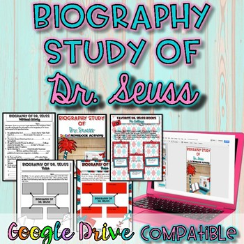 Biography Study of Dr. Seuss Activity {Google Drive}