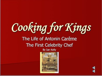 Biography of Marie Antonin Careme