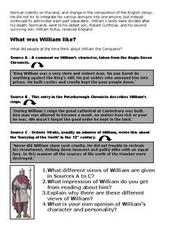 Biography of William the Conqueror