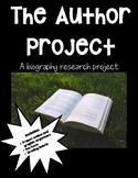 Biography of an Author Research Project
