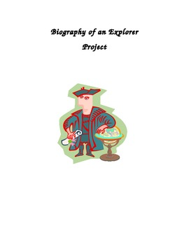 Biography of an explorer project