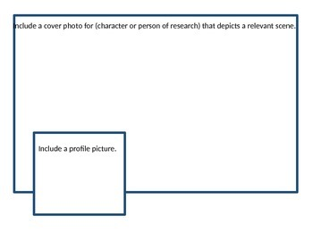 Biography or Characterization Facebook Activity
