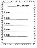 Biography poem