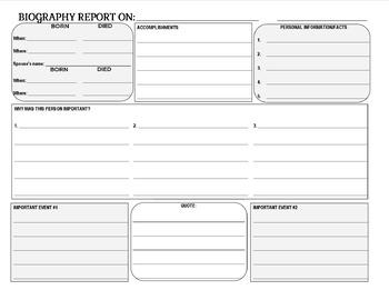 Biograpy Report