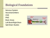 Biological Bases of Psychology (General or Introductory Psychology)
