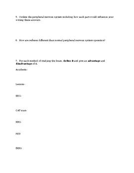 Biological Basis of Behavior - BioPsychology Study Guide