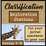 Biological Classification & Taxonomy Exploration Stations