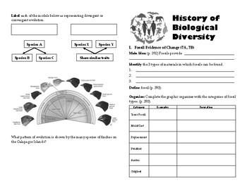 Biological Diversity Self-Paced Booklet