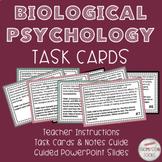 Biological Psychology Task Cards