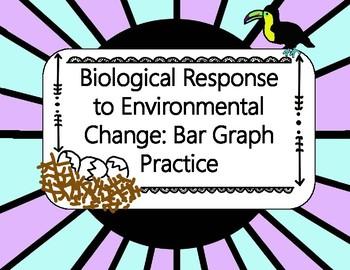 Biological Response to Environmental Change: Bar Graph Practice