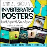 Biological Science Posters - animal groups // invertebrate