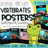 Biological Science Posters - animal groups // vertebrates