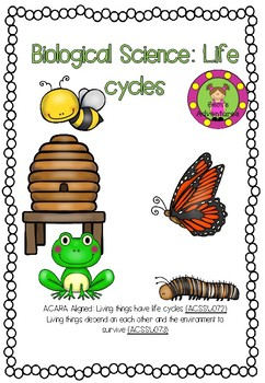 Biological science:Life cycles