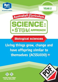 Biological sciences including STEM project – Year 2