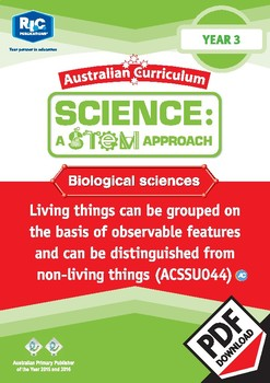 Biological sciences including STEM project - Year 3