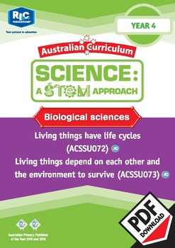 Biological sciences including STEM project - Year 4