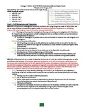 Biology 1 Outline with NGSS standards